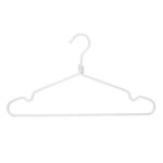 10 matte silver aluminum hangers for the home