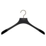 10 cintres pour chemises en frêne - Coloris noir vintage