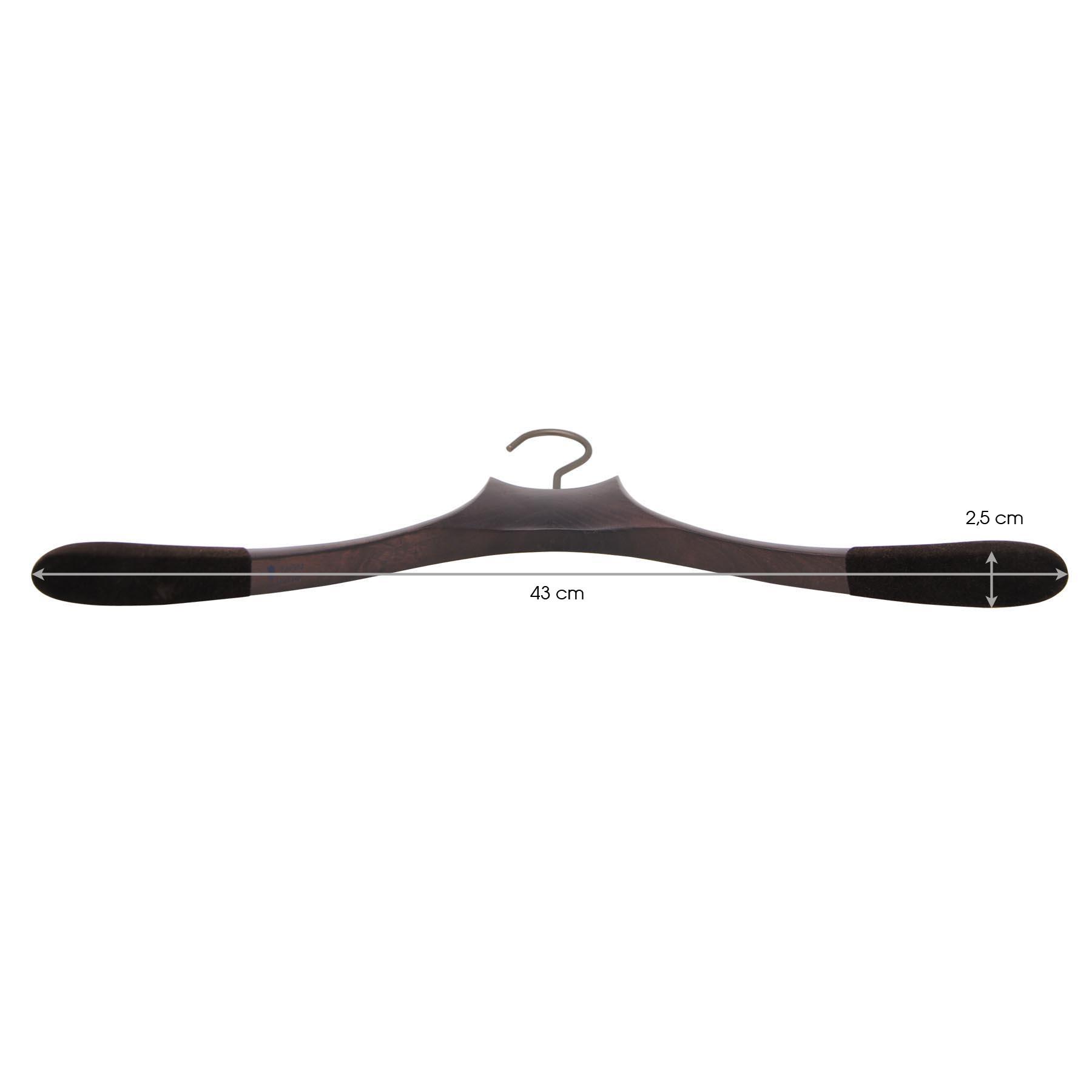 cintre pour chemise avec antiglisse - 43 cm