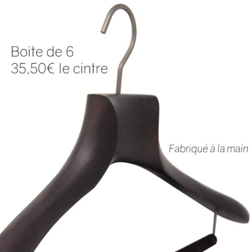 luxury suit hanger with non-slip bar