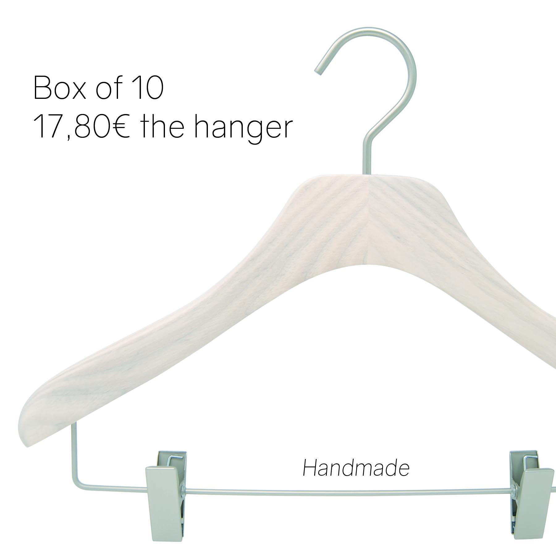 Shirt women hangers for women, whitewash color