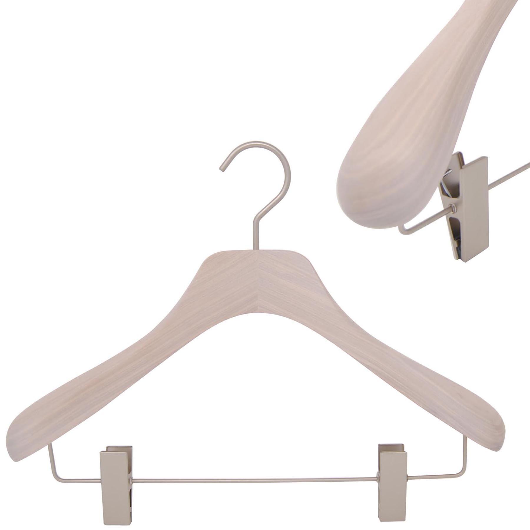 cintre pour veste avec pinces