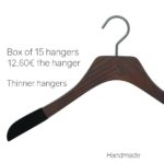 Luxury wooden hangers for shirt