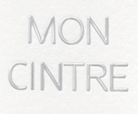 logo lettres métalliques